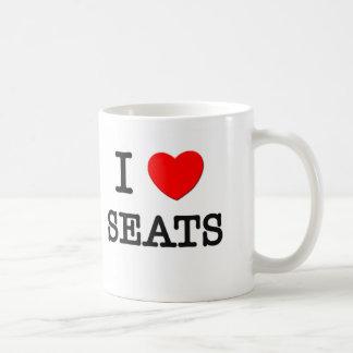 I asiento para dos taza de café