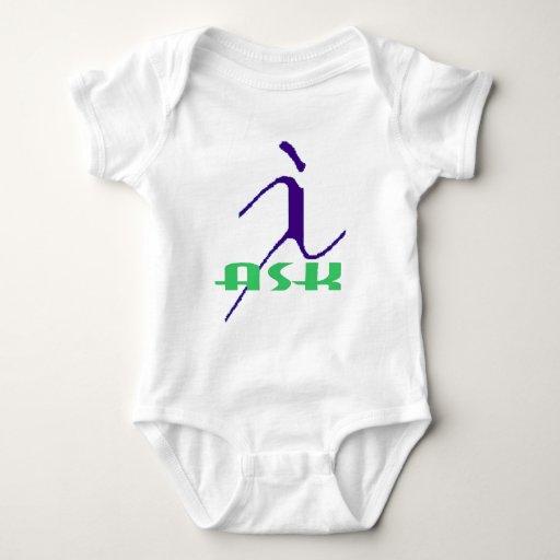 I ASK.jpg Camiseta