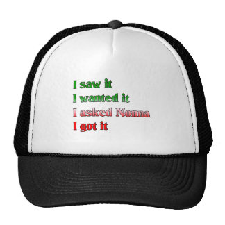 I Asked Nonno Trucker Hat