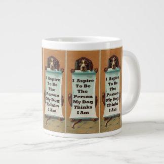 I Aspire to be; Jumbo Mug 20 Oz Large Ceramic Coffee Mug