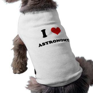 I astronomía del amor del corazón I Camisa De Perrito