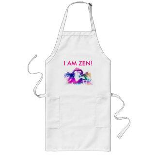 I AT THE ZEN LONG APRON