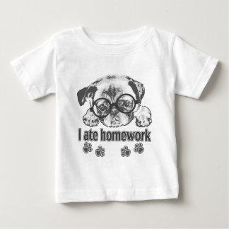 I ate homework baby T-Shirt