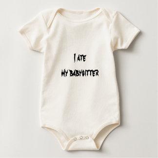 I ate  my babysitter baby bodysuit