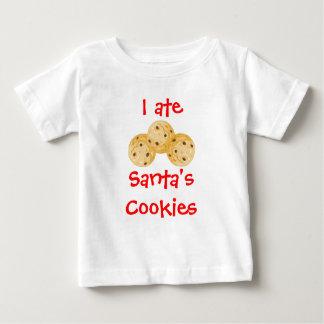 I ate Santa's Cookies Baby T-Shirt