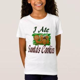 i ate santas cookies shirt