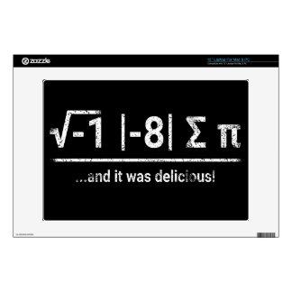 I Ate Some Pi | vintage light Laptop Skin
