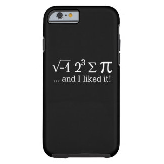 I ate some pie and I liked it on Black Tough iPhone 6 Case