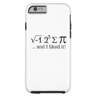 I ate some pie and I liked it Typography Tough iPhone 6 Case