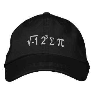 I Ate Some Pie And It Was Delicious Embroidered Baseball Caps