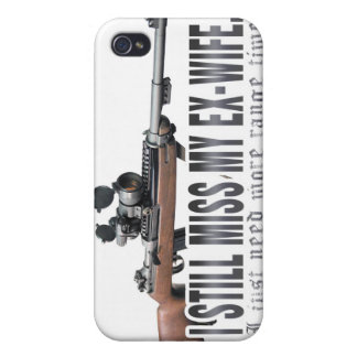 I aún Srta My Ex Wife iPhone 4 Protectores