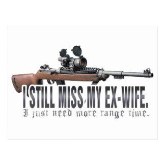 I aún Srta. My Ex Wife Tarjeta Postal