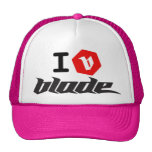 I B  blade kite Trucker Hat