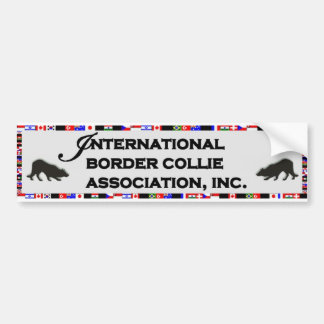 I.B.C.A. Bumper Sticker