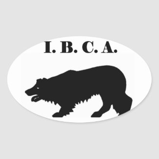 I.B.C.A. Sticker