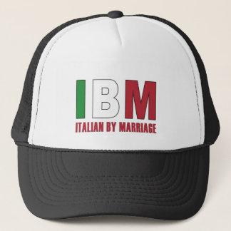 I B M TRUCKER HAT