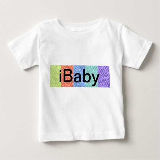 i Baby colourful Baby white, Toddler's tee