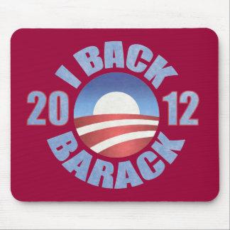 I BACK BARACK 2012 MOUSE PAD
