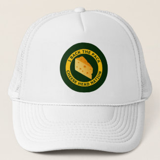 I Back The Pack - Cheese Head Nation Trucker Hat