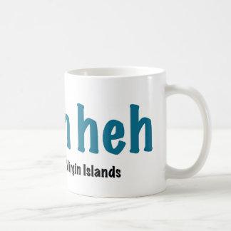 I bahn heh classic white coffee mug