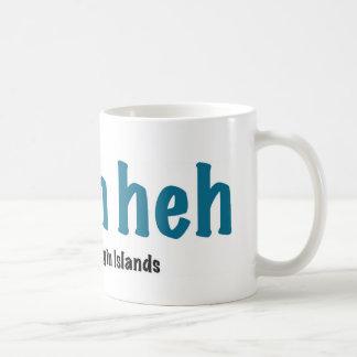 I bahn heh, St. Croix Classic White Coffee Mug