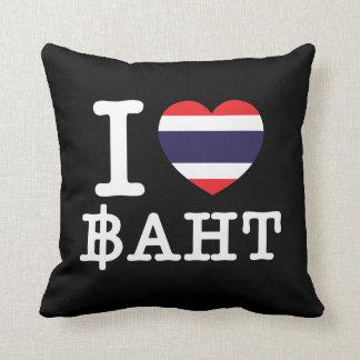 I baht del corazón (amor) cojin
