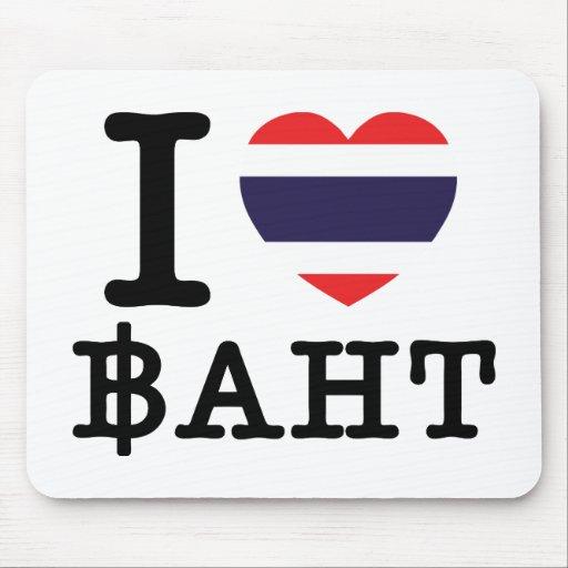 I baht del corazón (amor) tapetes de ratones