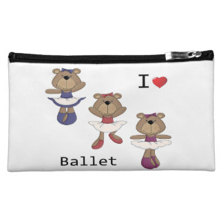 I bailarina del oso del ballet del corazón