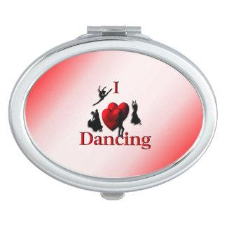 I baile del corazón espejos compactos