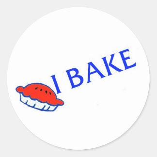 I Bake sticker