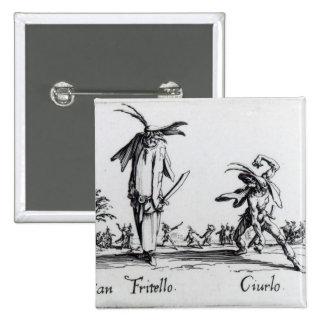I Balli de Spessanei, or Le Grande Chasse Pinback Button