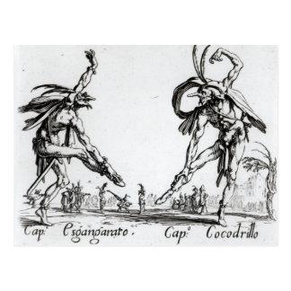 I Balli de Spessanei, or Le Grande Chasse Postcard