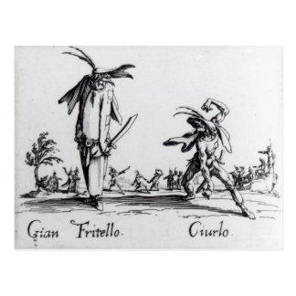 I Balli de Spessanei, or Le Grande Chasse Postcards
