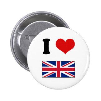 I bandera británica BRITÁNICA de Union Jack del am Pins