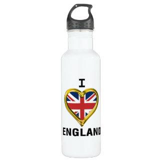 I bandera Inglaterra del corazón