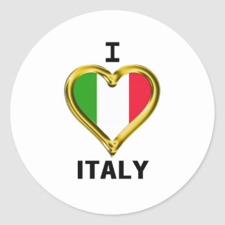 I bandera Italia del corazón