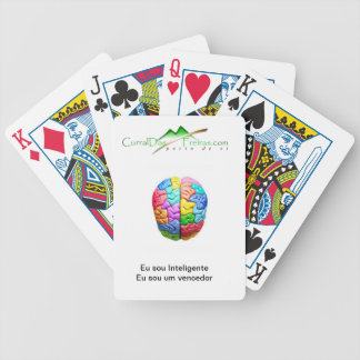 I baralho letters Intelligent Bicycle Playing Cards