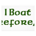 I barco por lo tanto soy anuncios