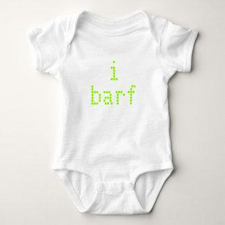 i barf baby bodysuit