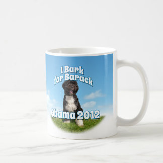 I Bark for Barack, Bo the First Dog Obama Coffee Mug