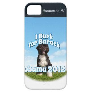 I Bark for Barack, Bo the First Dog Obama iPhone 5 Cases