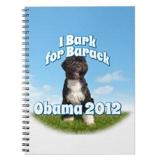 I Bark for Barack, Bo the First Dog Obama Notebook