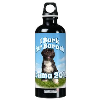 I Bark for Barack, Bo the First Dog Obama SIGG Traveler 0.6L Water Bottle