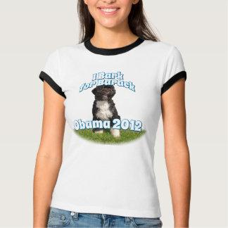 I Bark for Barack, Bo the First Dog Obama Tee Shirt