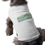 I Bark For Barack Doggy Shirt Dog Tee Shirt