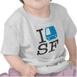 I Bart SF Baby Shirt