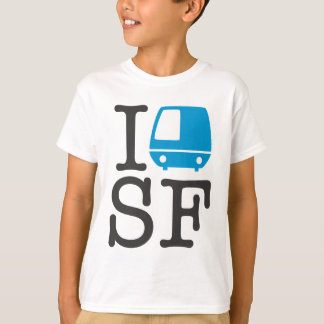 I Bart SF Kids Shirt