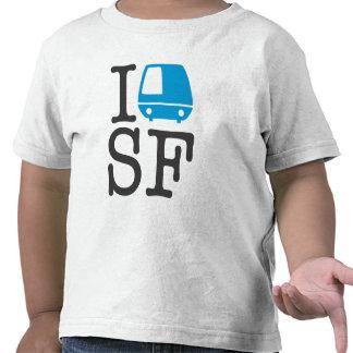 I Bart SF Toddler Shirt