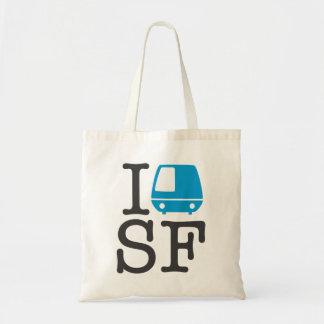 I Bart SF Tote Budget Tote Bag