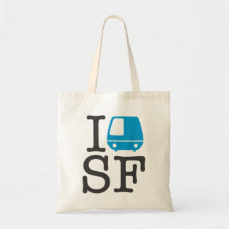 I Bart SF Tote Tote Bags